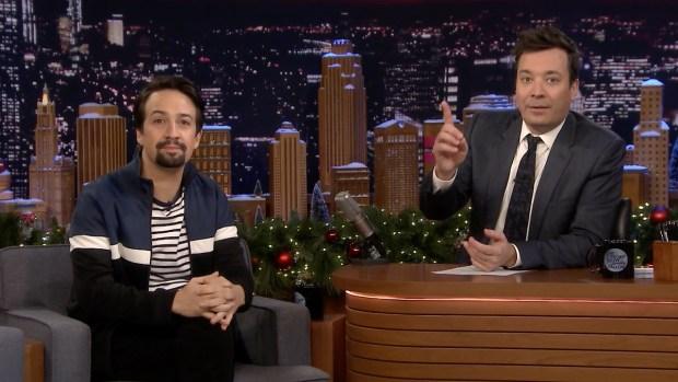[NATL] 'Tonight': Jimmy Fallon Heading to Puerto Rico With Lin-Manuel Miranda