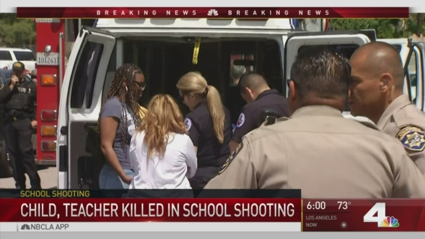 [NATL-LA] Teacher's Estranged Husband Opens Fire in Elementary School Classroom