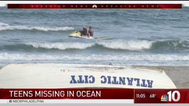 Teens Go Missing Swimming Off Atlantic City