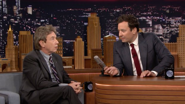 [NATL] 'Tonight Show': 'Tensions' with Martin Short and Steve Martin
