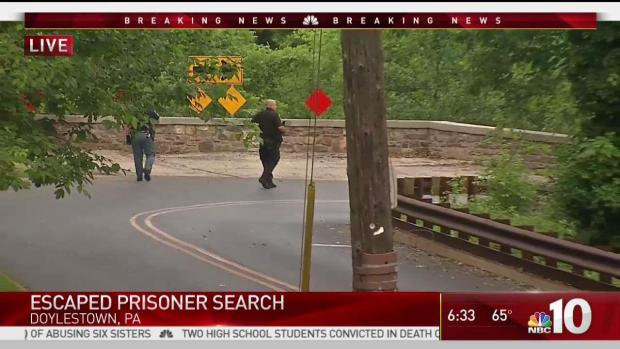 Search Is on for Escaped Prisoner in Bucks County