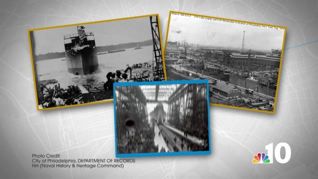 Then and Now: the Navy Yard