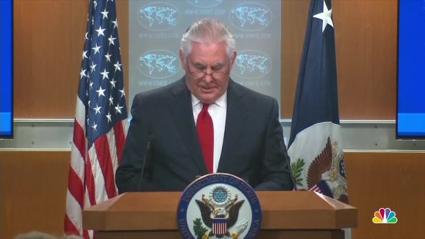 [NATL] Tillerson Responds to Surprise White House Ouster