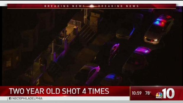 [PHI] Toddler Critical After Shot 4 Times in the Back