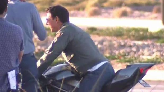 Tom Cruise Spotted at NAS North Island for 'Top Gun 2'