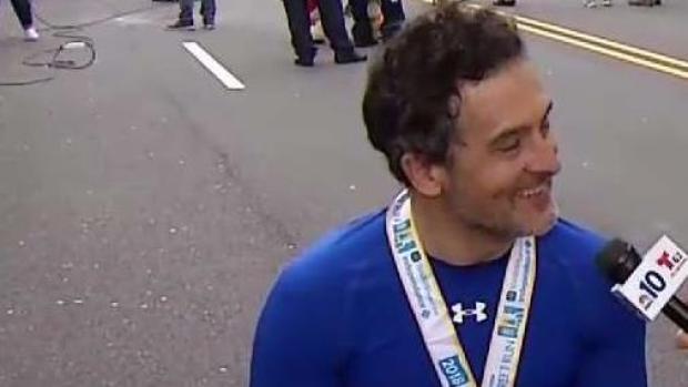 Tony Nogueira Wins Wheelchair Race