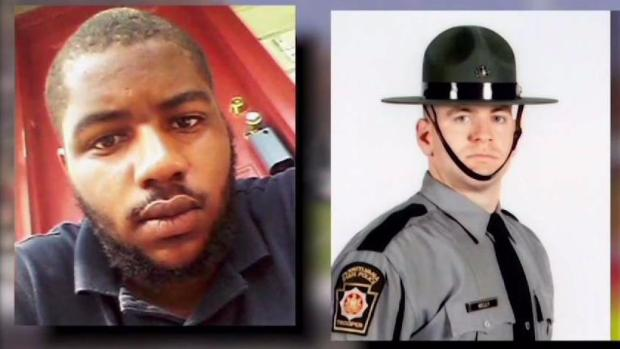 Trial of Man Accused of Shooting Trooper Continues
