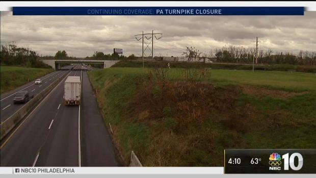 [PHI] Turnpike Closure to Impact Traffic