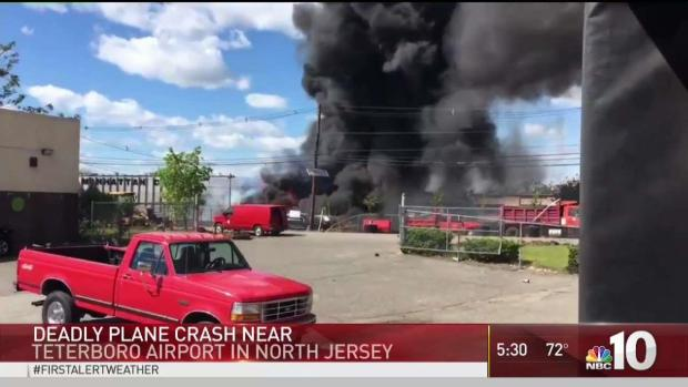 Two Crew Members Dead After NJ Plane Crash