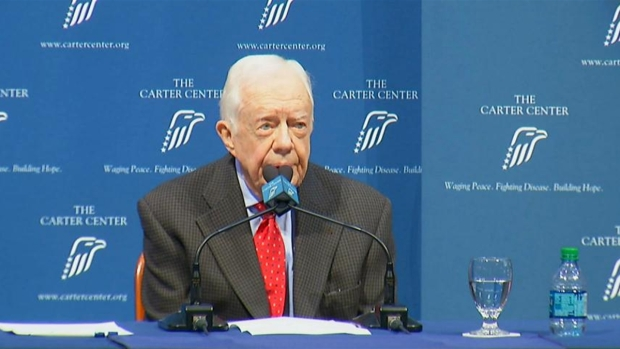 [NATL] Former President Carter Talks Cancer Diagnosis