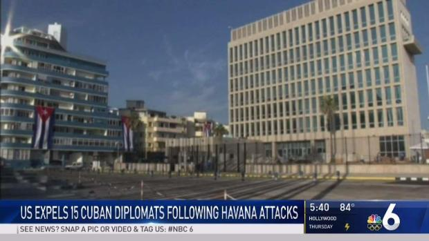 [NATL-MI] US Expels 15 Diplomats Following Havana Attacks