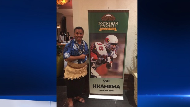 NBC10's Vai Sikahema Inducted into Polynesian Football Hall of Fame
