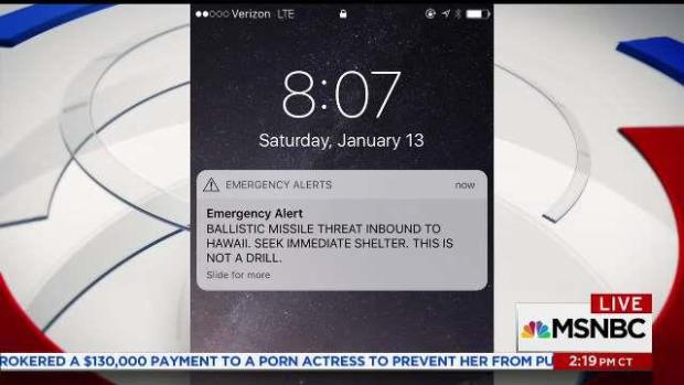 Vai Describes Getting False Missile Alert While in Hawaii