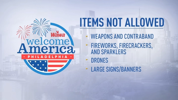 What You Can and Can't Bring to the Party on the Parkway