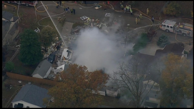 [PHI] RAW VIDEO: Lower Twp. House Explosion