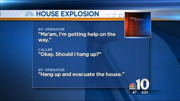 [PHI] House Explosion 911 Calls