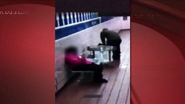 [PHI] Surveillance Video: Accidental Shooting on SEPTA Platform