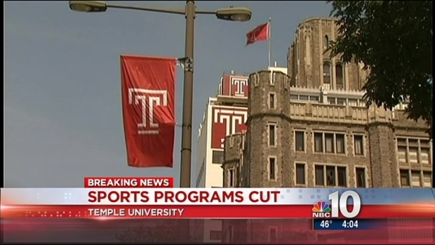 [PHI] Temple Cuts 7 Sports Programs