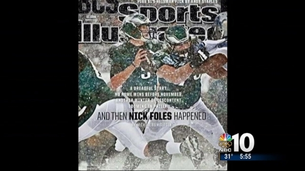 [PHI] Will Sports Illustrated Cover Jinx Foles?