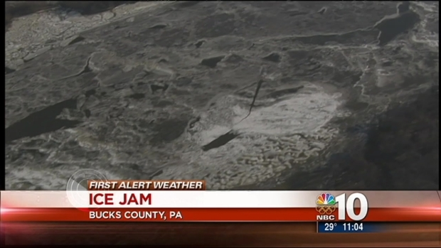 [PHI] Coast Guard Works Ice Jam