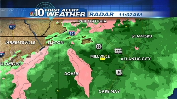[PHI] First Alert Weather: Conditions Improve, Warm Up Begins