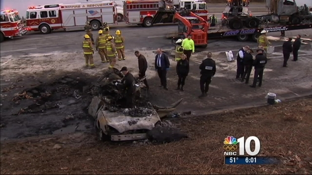 [PHI] Driver Killed in Fiery Crash