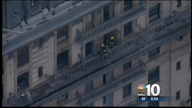 [PHI] Man Dies in High Rise Fire