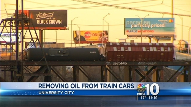 [PHI] Removing Oil from Train Cars