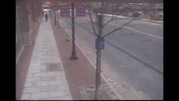 [PHI] Woman Stuffed in Trash Can, Left on Sidewalk