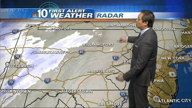 [PHI] NBC10 First Alert Weather: Snow Moves In