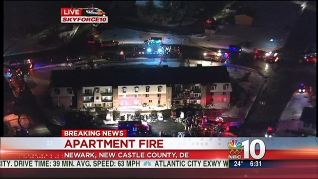[PHI] Apartment Residents, Firefighter Injured