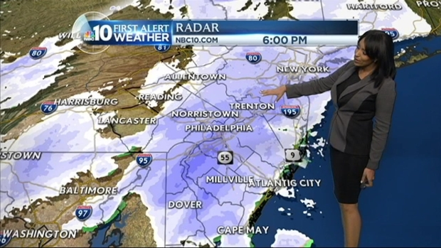 [PHI] First Alert Weather Forecast: Snow
