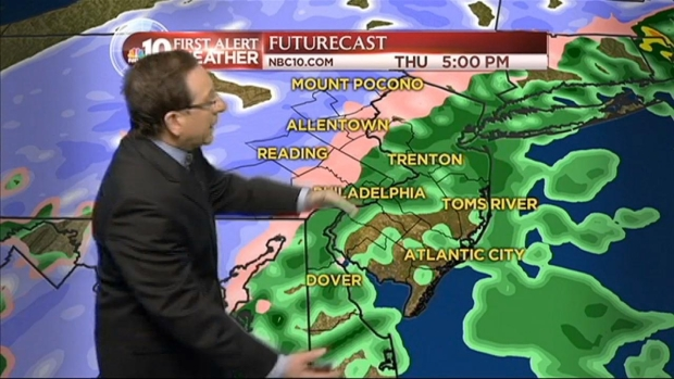 [PHI] NBC10 First Alert Weather: Storm Changing