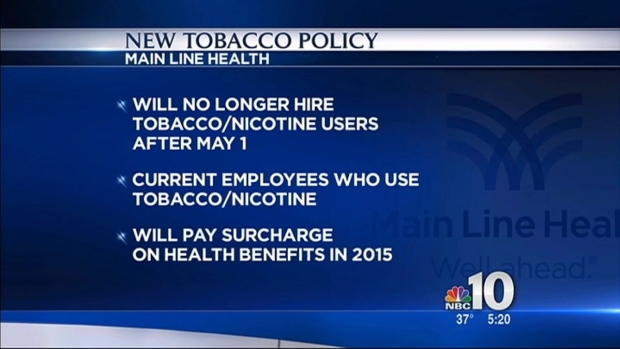 [PHI] Hospital Won't Hire Smokers
