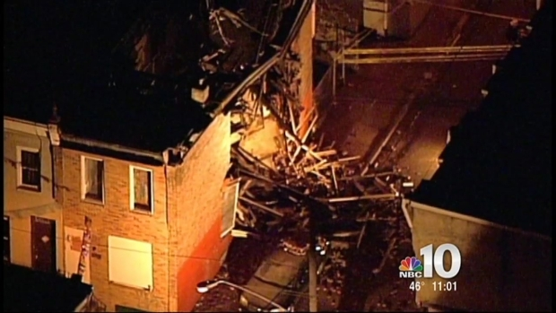 [PHI] Strawberry Mansion Building Collapse