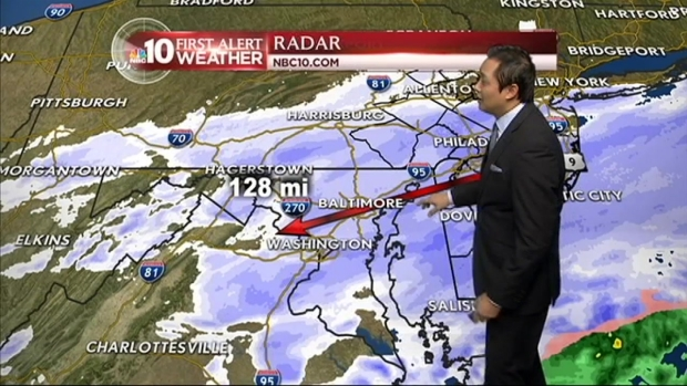 [PHI] NBC10 First Alert Weather: Snow Before Spring