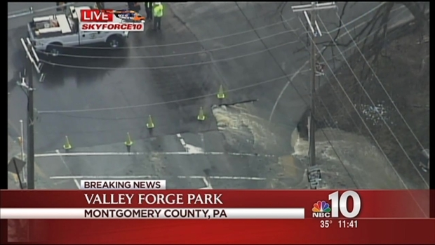 [PHI] Sewer Leak at Valley Forge Park