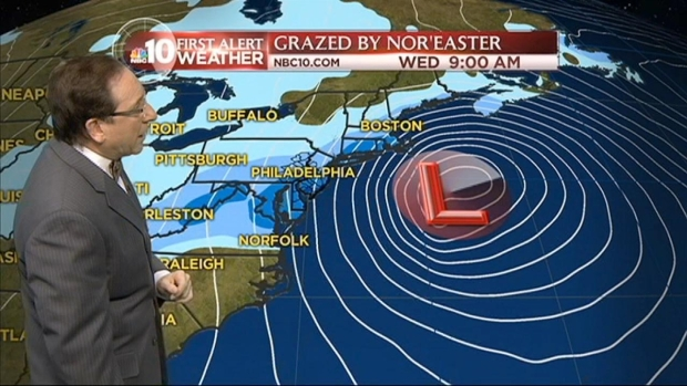 [PHI] NBC10 First Alert Weather: Updated Snow Totals, Timeline