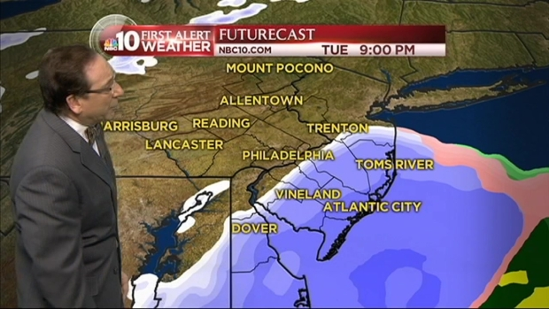 [PHI] NBC10 First Alert Weather: Snow Continues