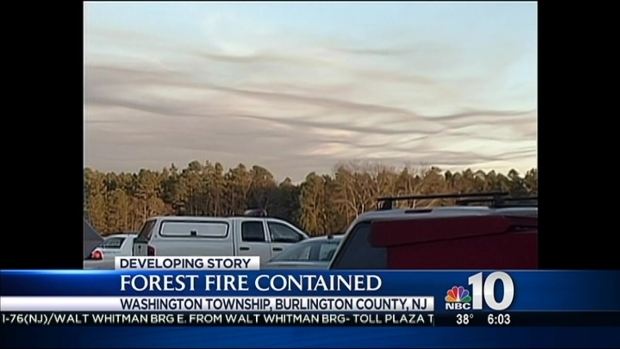 [PHI] NJ Forest Fire Mostly Contained