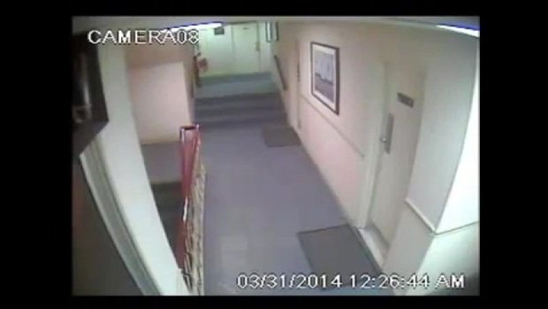 Caught on cam gunmen open fire inside motel nbc 10 for Roosevelt motor inn philadelphia pa
