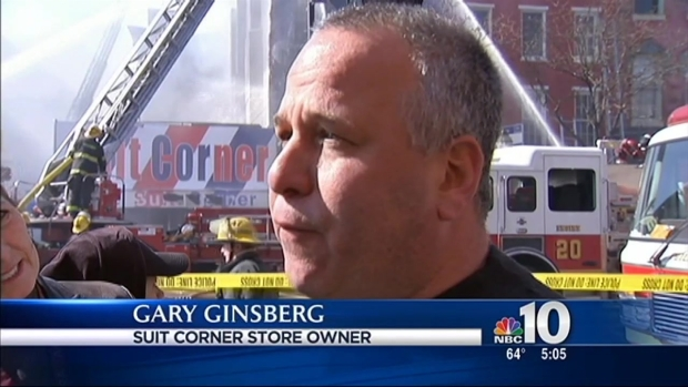 [PHI] Owner Calls Suit Corner Fire a 'Major Catastrophe'
