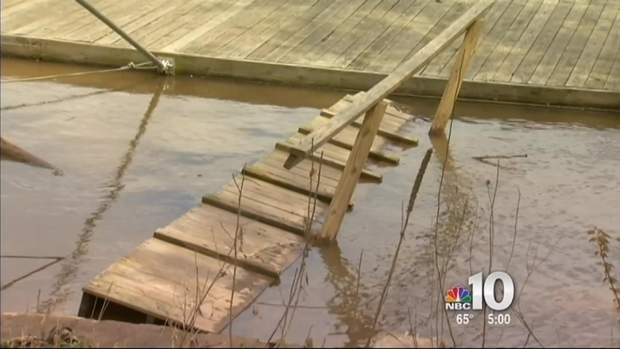 [PHI] Flood Waters Leave Mess, Worry Along Schuylkill River