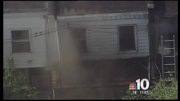 [PHI] West Philadelphia House Fire Sends Person to Hospital