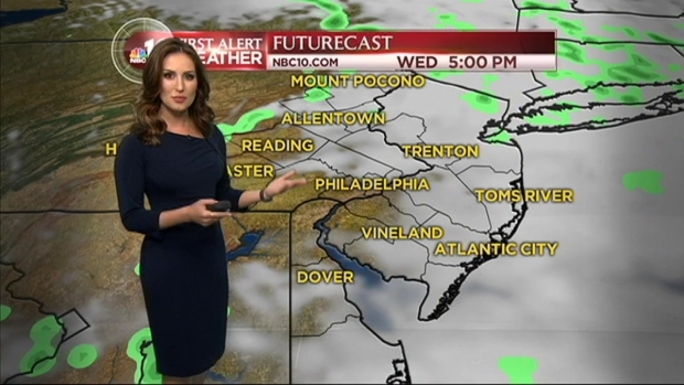 [PHI] NBC10 First Alert: Storm Moves Out, Cool Temps Move in