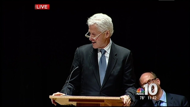 [PHI] Bill Clinton Speaks About Lewis Katz