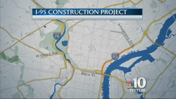 [PHI] I-95 Construction Project Begins