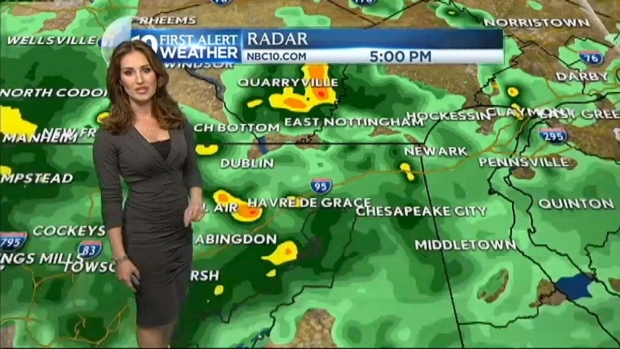 [PHI] NBC10 First Alert Weather: Rain Continues