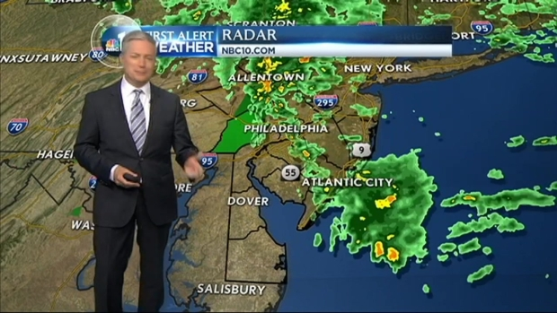 [PHI] NBC10 First Alert Weather: More Storms Before the Weekend