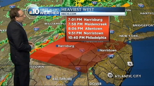 [PHI] NBC10 First Alert: Storm Approaching